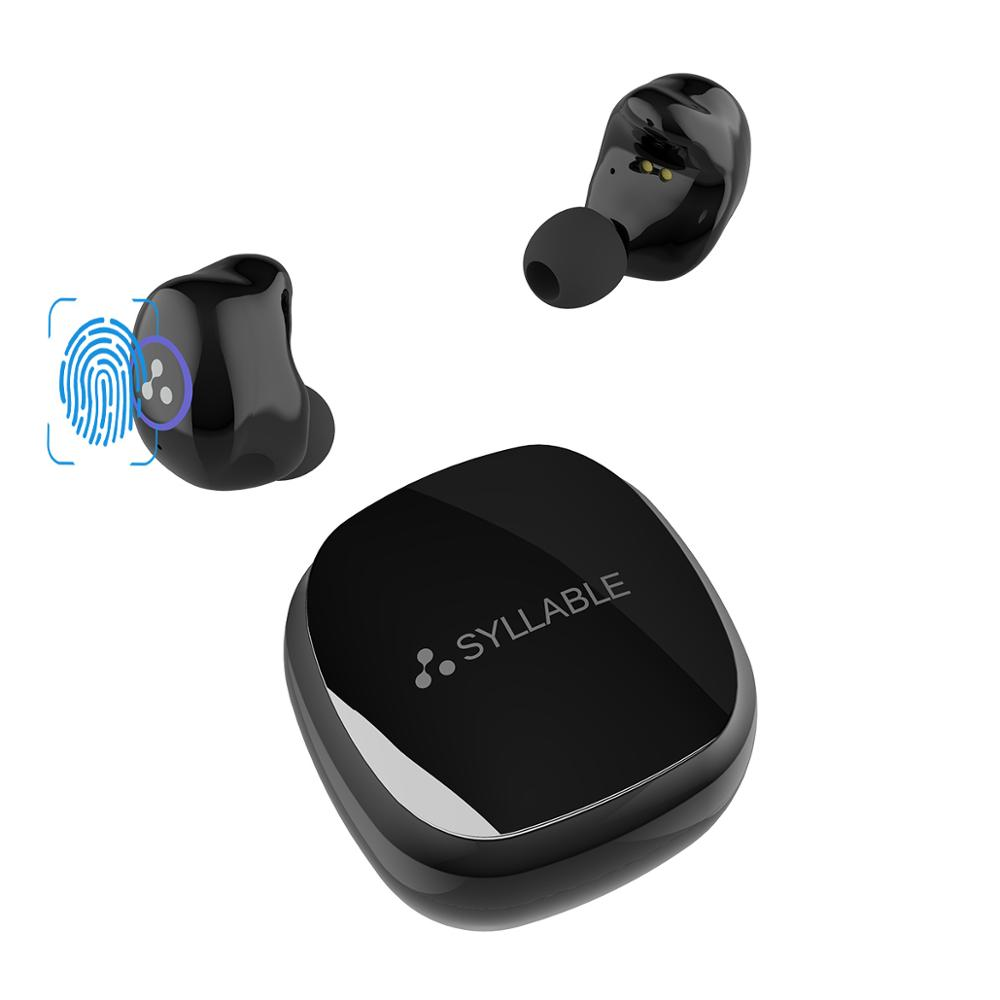 2019 SYLLABLE SD16 Touch Bluetooth Headset Sports 6 hours Earphones True Wireless Stereo 800mAh Touch Earphones