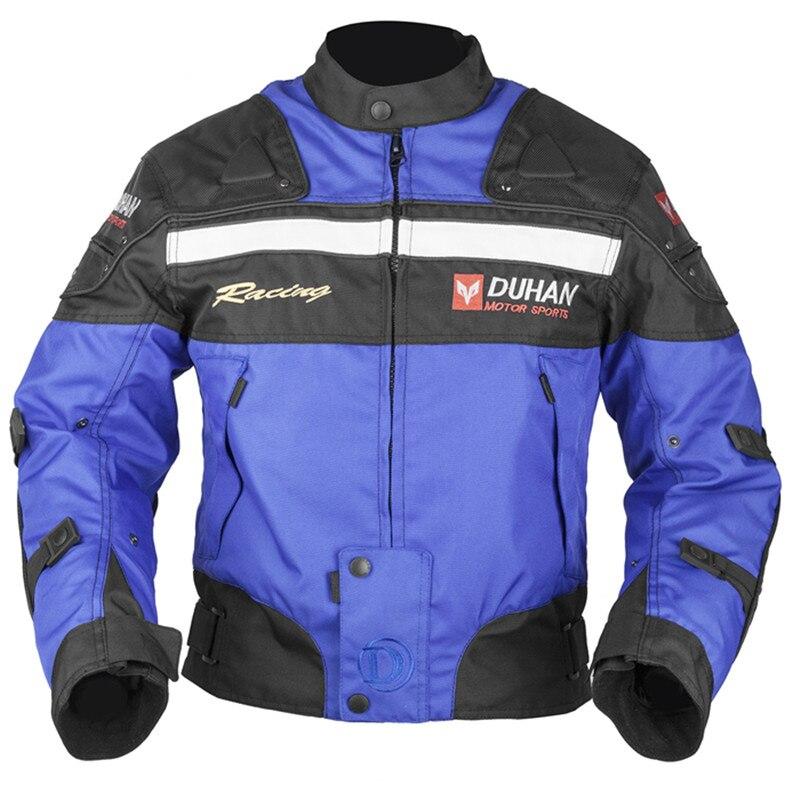 Moto hiver vestes Motocross protection tout-terrain Oxford Jaqueta Moto Chaqueta avec doublure en coton 5 protecteurs veste
