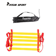 Free shipping 1pc/lot  6 section 3 meters Soccer Training Speed agility ladder Quick Flat Rung Agility Ladder+ carry bag недорого