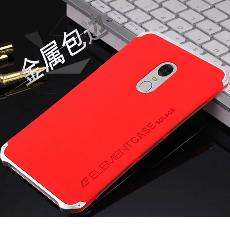 Luxury Fashion Metal Mobile Phone Bag ForXiaomi Red Mi Note4 Unbreak Scratch Resistant Cell Phone Case