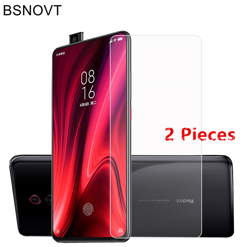 2PCS Screen Protector For Xiaomi Mi 9T Glass Tempered Phone Film