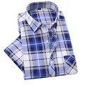New Fashion Contrast Color Collar Men Shirt Short Sleeve Slim Fit Shirt Men High Quality Men Designer Shirts Clothes