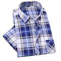 Nueva Contraste de Color de Moda Collar de Los Hombres Camisa de Manga Corta Slim Fit Camisa de Los Hombres de Alta Calidad Diseñador Camisas de Los Hombres Ropa