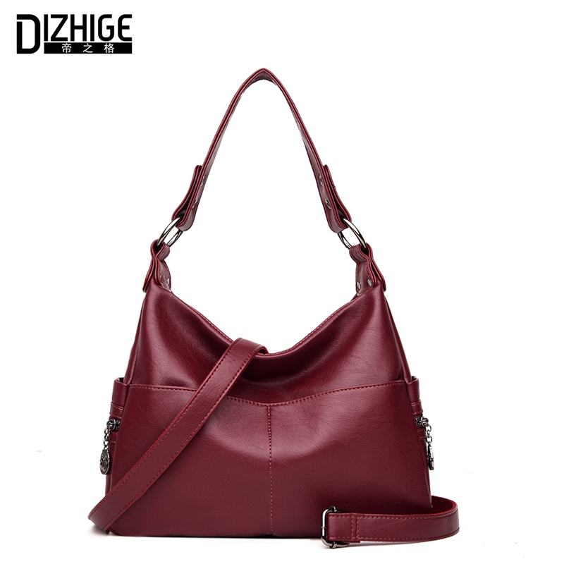 DIZHIGE Brand New Crossbody Bags For Women Leather Handbags Designer Shoulder Bags Ladies High Quality Women Bag 2017 Autumn dizhige brand luxury handbags women bag designer famous pu leather bags women high quality shoulder bags ladies hand sac femme