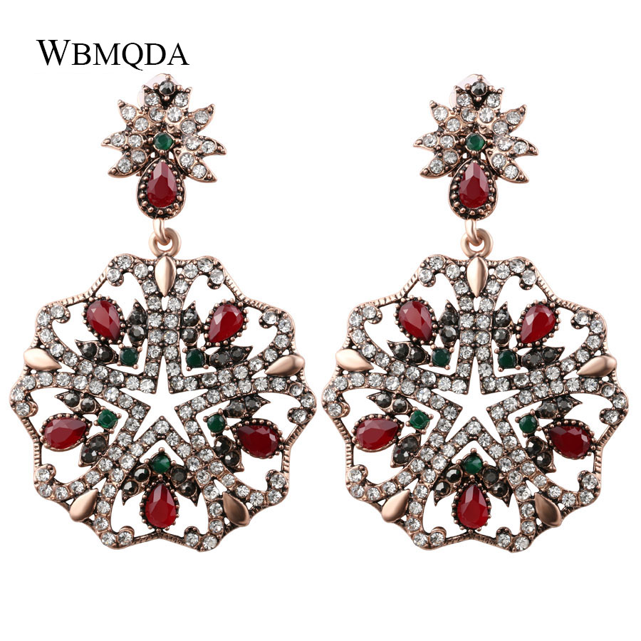 Furniture Trendy Star Pentagram Statement Earrings For Women Luxury Bohemian Big Crystal Earings Vintage Turkish Jewelry Free Shipping Catalogues Will Be Sent Upon Request