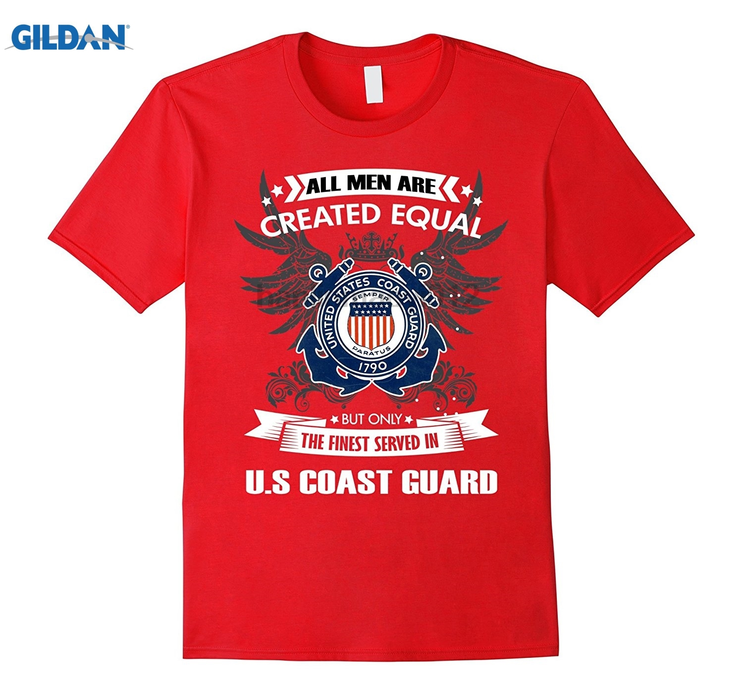 GILDAN U.S Coast Guard T-Shirt sunglasses women T-shirt