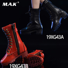 цены Shoes Figure 1/6 Scale Zipper boots 19XG43A/B/C Shoes suitable for female soldiers dolls Fit 12'' Action Figure Body Accessories