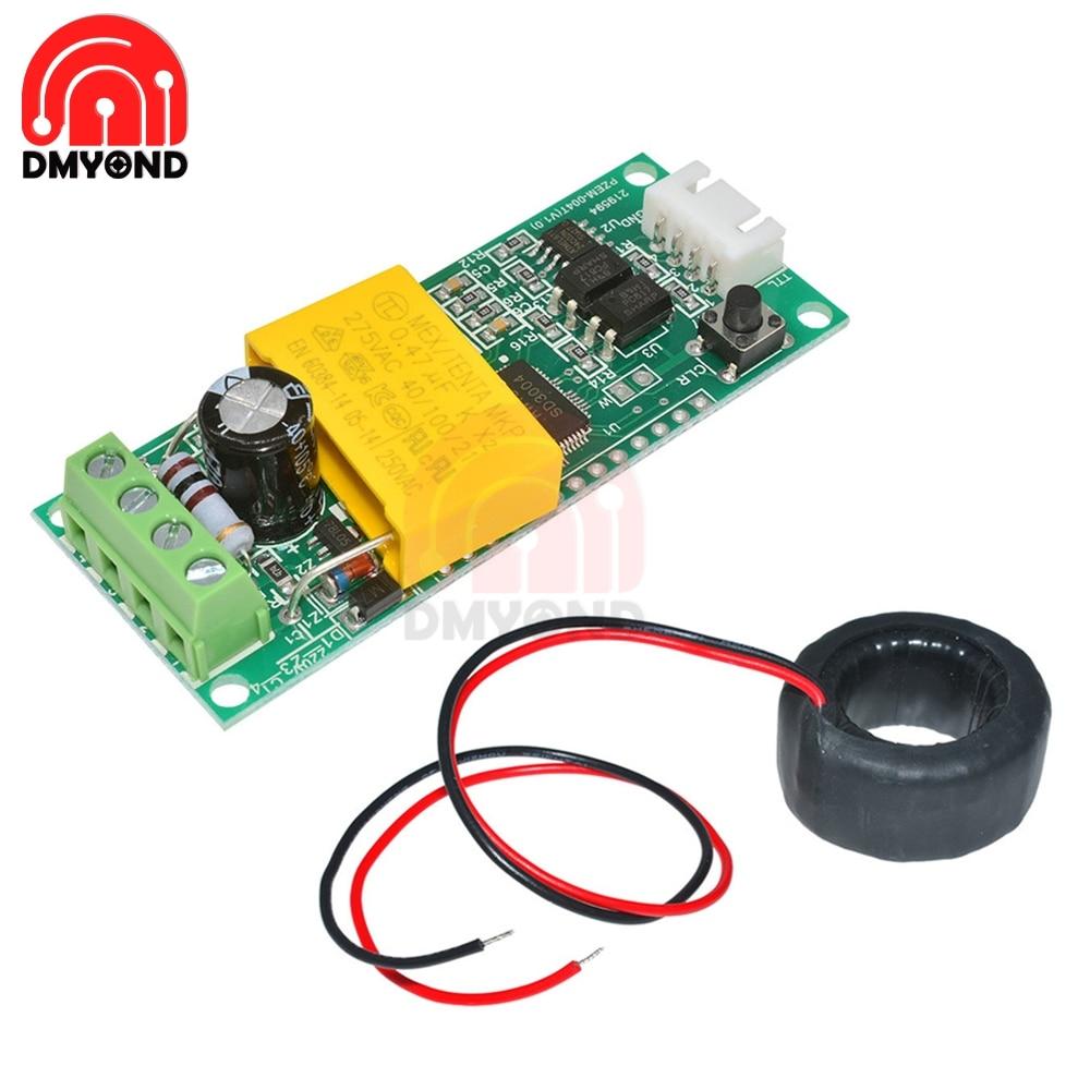 AC Digital Multifunction Meter Watt Power Current Test Module Volt Amp PZEM-004T For Arduino TTL COM2\COM3\COM4 0-100A 80-260