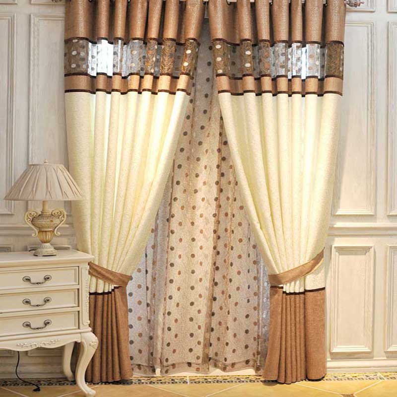 Popular curtain styles buy cheap curtain styles lots from for Different styles of drapes