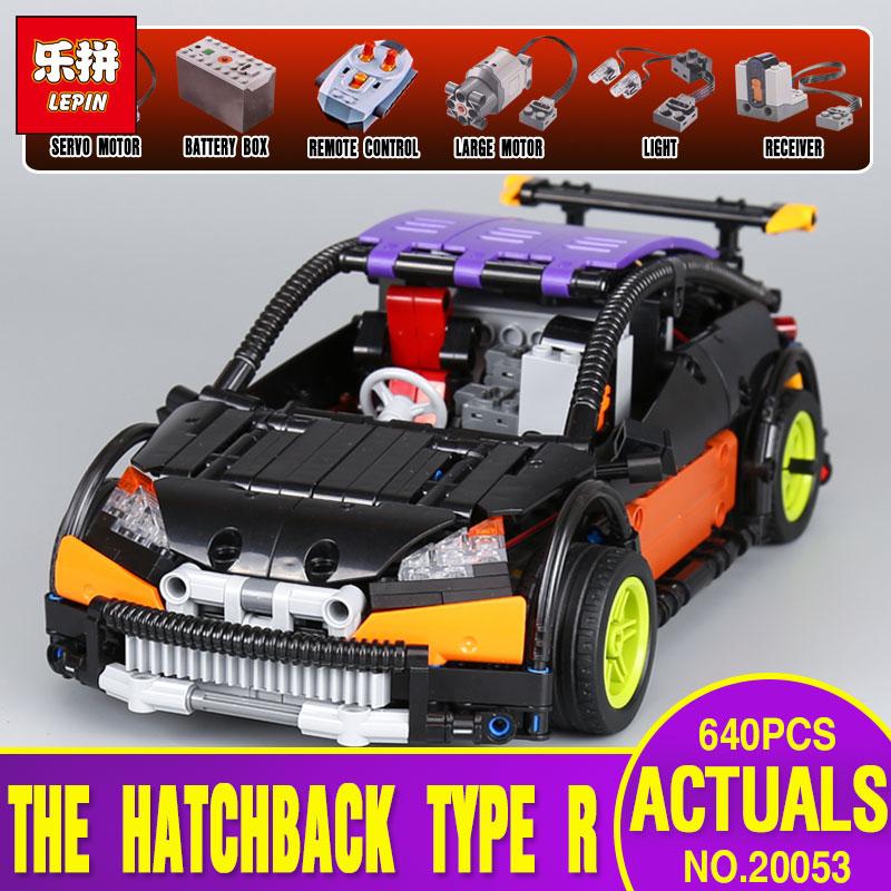 Lepin 20053 & 20053B Genuine Technic Series The Hatchback Type R Set MOC-6604 Building Blocks Bricks Educational Toy legos Gift r b parker s the devil wins