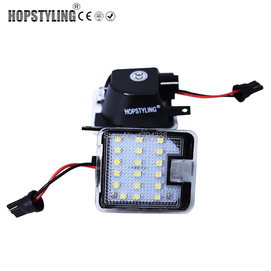 Hopstyling2x untuk Ford LED Sisi di bawah Cermin Cahaya Genangan - Lampu mobil - Foto 2