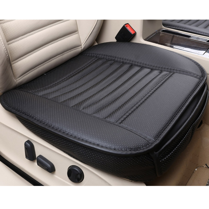 2018 brand new universal pu leather car seat pad, non slide single car seat cushion, fits for most cars not moves seat covers