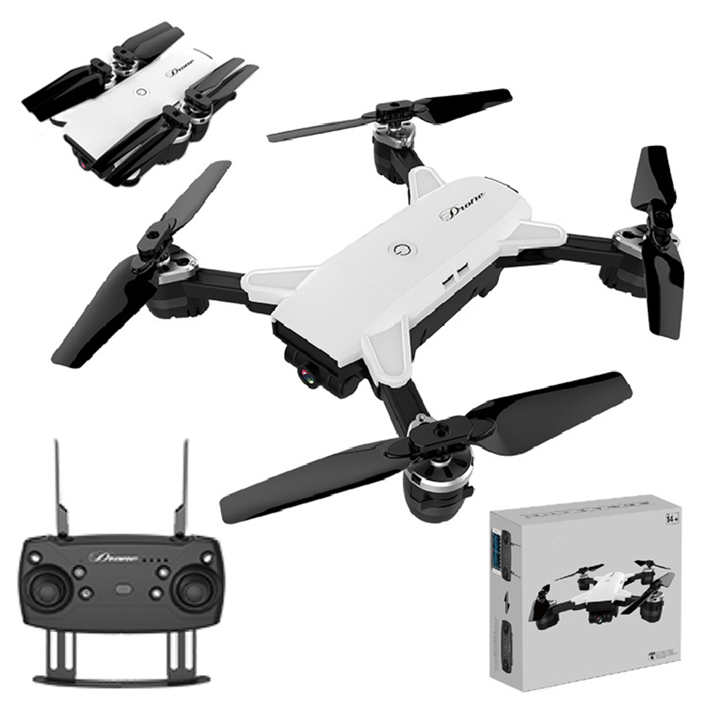 19HW RC Helicopter Selfie Foldable MINI RC Drone With Wifi FPV Wide-angle 2MP Camera Altitude Hold Mode Quadcopter VS XS809 Dron foldable rc quadcopter lh x24 wifi fpv 480p 720p wide angle camera 2 4g selfie drone with led light altitude hold vs xs809w x8w
