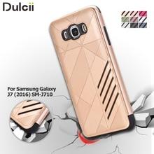 Принципиально Coque для Samsung Galaxy J7 (2016) 2-в-1 SM-J710 Case Броня PC + TPU Телефон Case Сумка для Samsung Galaxy J 7 (2016) крышка