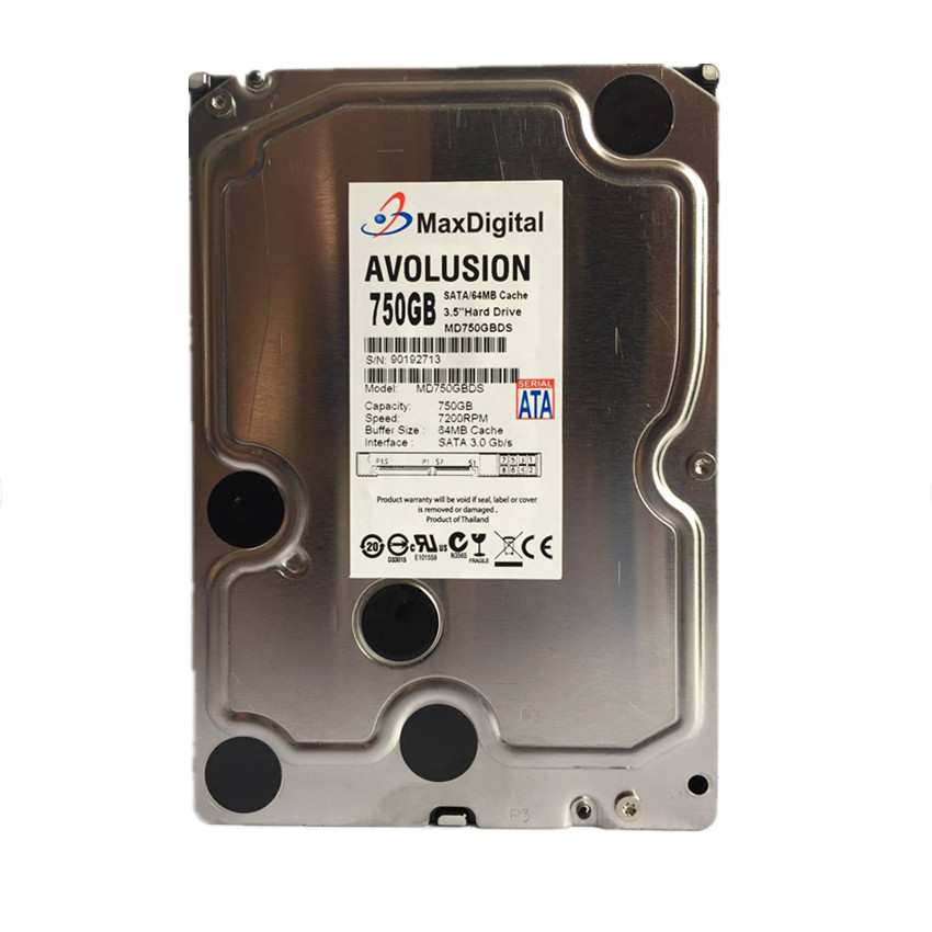 750GB SATA 3.5inch 7200RPM Cache 64MB Enterprise Grade Security CCTV Hard Drive Warranty for 1-year hard drive x274a 146g 10k fc x274 3 5 scsi one year warranty