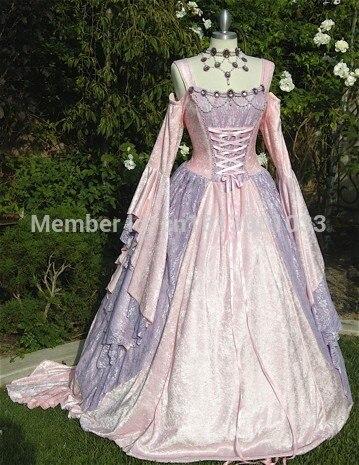 Gwendolyn Cinderella Medieval or Renaissance Wedding Gown /Southern ...