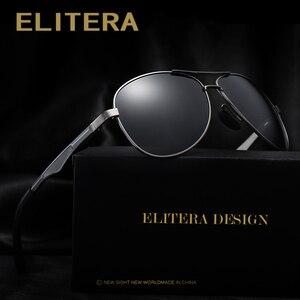 Image 1 - ELITERA Men Polarized Sunglasses 2020 Classic Design Male Aluminum Magnesium Sun Glasses Driving Eyewear For Men/Women