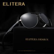 Elitera 男性偏光サングラス 2020 古典的なデザイン男性アルミニウムマグネシウムサングラス駆動眼鏡メンズ/女性