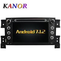 KANOR Android 7 1 Quad Core RAM 2G Car DVD GPS Radio Stereo For Suzuki Grand