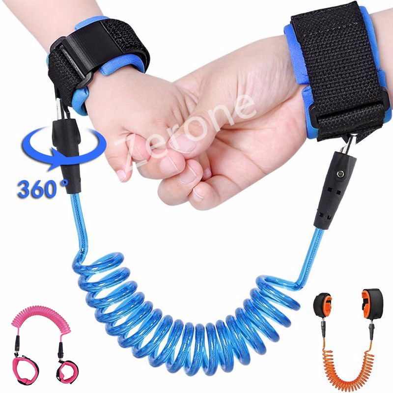 Child Safety Harness /& Reins Adjustable Safety Strap Baby Safety Wrist Link