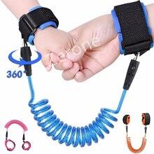 Привязь на запястье для детей преддошкольного возраста, ремни безопасности для детей, веревка для прогулок на открытом воздухе, браслет на руку, детский браслет против потери