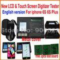 2016 Горячая продажа! английская Версия ЖК-дисплей и Сенсорный экран Digitizer панель Тестер тест доска для iphone 6 S 6 S плюс 6SP