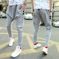 2015 Top Selling Spring Autumn Mens Harem Pants Casual Joggers Sweatpants For Men