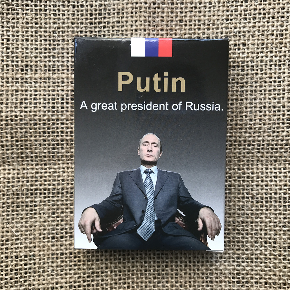 Original High Quality Russian President Putin Playing Cards Putin Poker Cards For His Fans Collection Or Gift