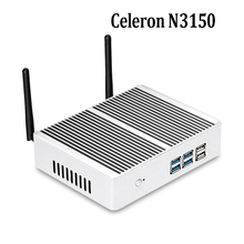 2017 celeron n3150 mini pc windows 10 мини-компьютер hdmi wi-fi кну mini pc linux металлический корпус поддержка сенсорного экрана desktop pc