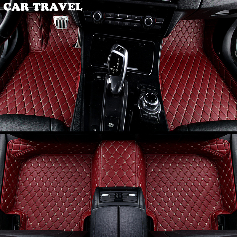 car floor mats for Tesla all models Model S Model X car styling accessories automobile foot covers Custom foot Pads цена 2017