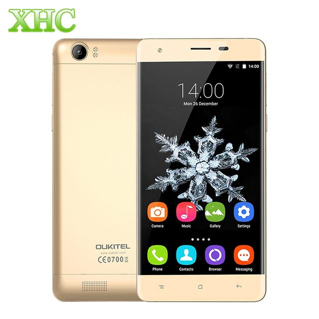 Desbloqueado oukitel k6000 2 gb + 16 gb 4g lte smartphone 6000 mah batería 5.5 pulgadas android 5.1 mtk6735p quad core 1.0 ghz teléfono móvil