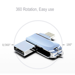 Image 4 - Creativo USB Flash Drive di Tipo C 128GB 64GB 16GB 32GB USB C Pendrive 64GB Pen drive USB C Per Il Telefono Android