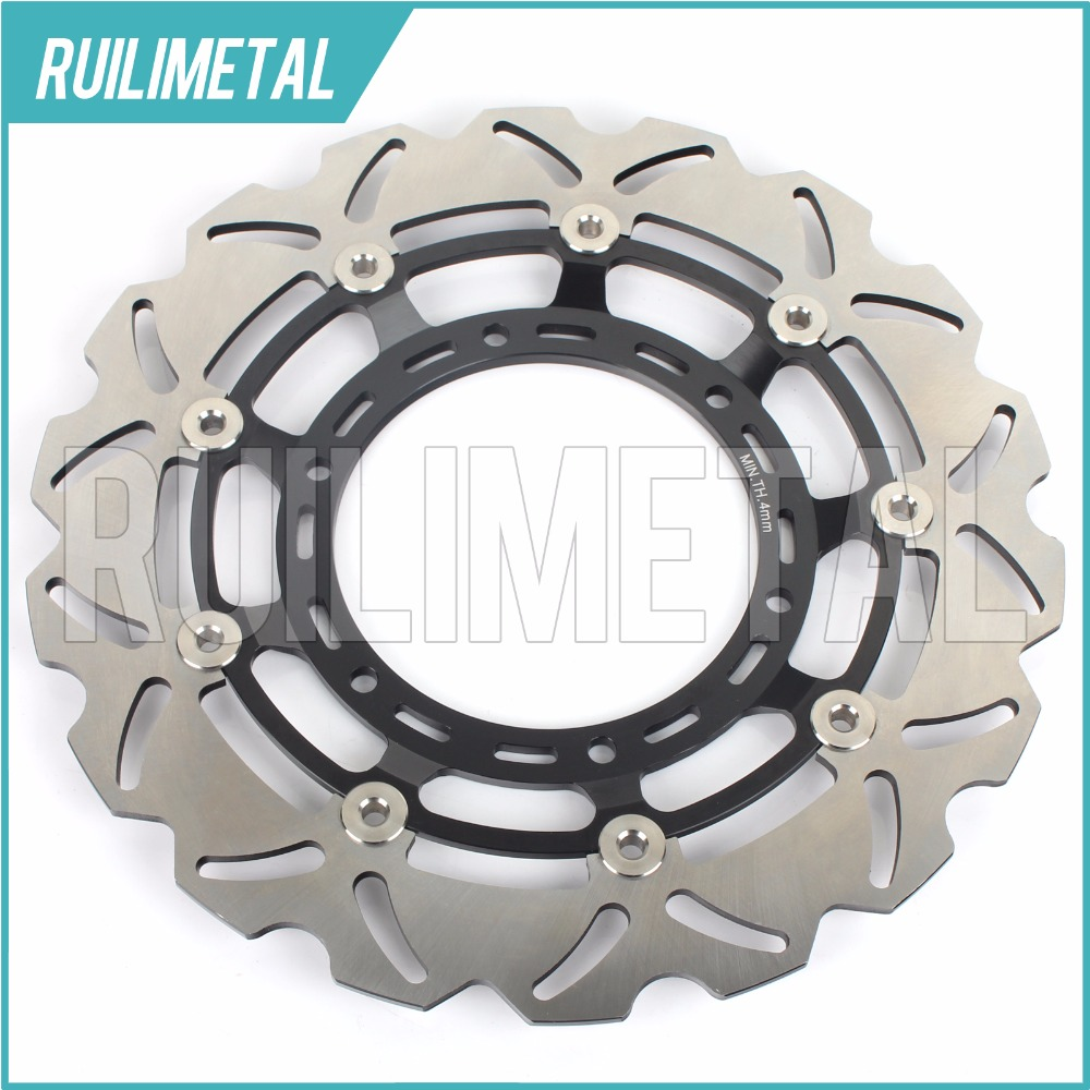 Front Brake Disc Rotor for YAMAHA XT 660 X Supermoto XT-660 XT660 2004 2005 2006 2007 2008 2009 2010 2011 keoghs motorcycle brake disc brake rotor floating 260mm 82mm diameter cnc for yamaha scooter bws cygnus front disc replace