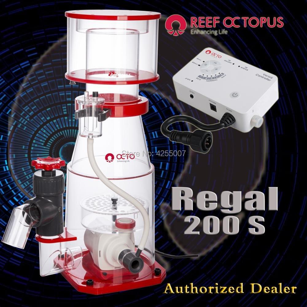 Marka nowy rafa Octopus OTCO Regal 200 S białka Skimmer dla morskich słonowodne rafy koralowe zbiornik akwarium można cieszyć się ze spędzania wolnego czasu bez w Filtry i akcesoria od Dom i ogród na  Grupa 1
