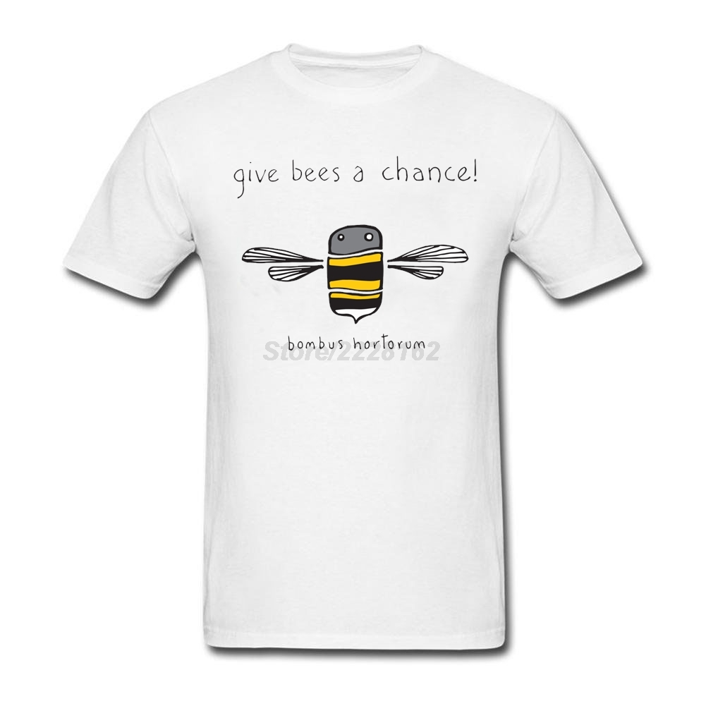 Popular man Give me a chance T Shirts Lowest Price Shirt Honey Bees font b Geek