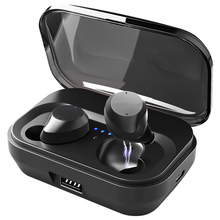 Original Bluetooth 5.0 Touch Control Hifi Earphone with Mic IPX7 waterpr TWS Wireless Earbuds Stereo Mic for Phone with Charge 5 0 bluetooth mini 3d stereo sound ouch control hifi earphone with mic sport ipx7 waterproof tws wireless earbuds stereo headset