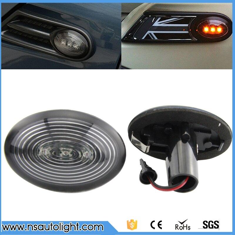 Fits Mini Cooper SD Clubman R55 White LED Superlux Side Light Beam Bulbs Pair