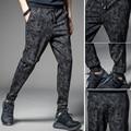 NEW Mens Jogger Autumn Pencil Harem Pants Men Camouflage Military Pants Loose Comfortable Cargo Trousers Camo Joggers