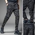 NOVA Mens Jogger Outono Lápis Harem Pants Calças Soltas Confortáveis Calças de Carga Dos Homens Camuflagem Militar Camo Corredores