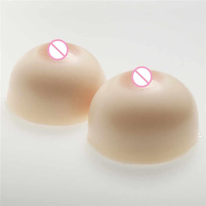 2000 g/paar Ronde Siliconen Borstprothesen Nep Tieten Tieten Borstprothese Voor Voor Mannen Transgender Crossdresser Drag Queen
