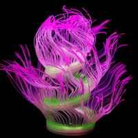 Aquatic Plant Coral Silicone Fluorescent Fish Tank Aquarium Decoration Ornaments