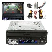 Универсальная Автомобильная Одноместный 1 Din 7 Дюймов HD С Сенсорным Экраном MP3/MP5 Видео Плеер USB Bluetooth + Камера + антенна