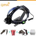 2000 Lumens Led Headlamp CREE XML T6 LED Headlamp 18650 Flashlight 3 Modes Waterproof Head Lamp Light for Hunting Camping