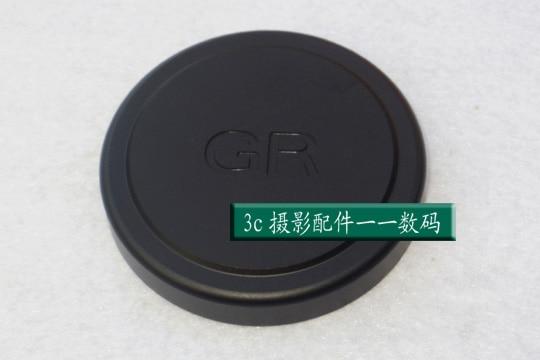 מתכת קדמי מכסה עדשה/כיסוי מגן שחור ברגים עבור RICOH GR2 GRII דיגיטלי מצלמה עדשות מצלמה אבזרים