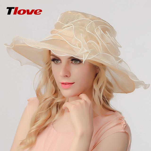 2016 Dama de la Moda Dom Sombrero de Las Mujeres de Las Señoras Del Verano Playa Panamá Sombrero de Ala Ancha Casquillo de Sun Plegable Femenina Fuera B-3156