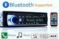 12 В тюнер Автомобилей Стерео bluetooth FM Радио MP3 Аудио Плеер Телефон USB/SD В Тире 1 DIN музыка авто аудио высокого качества