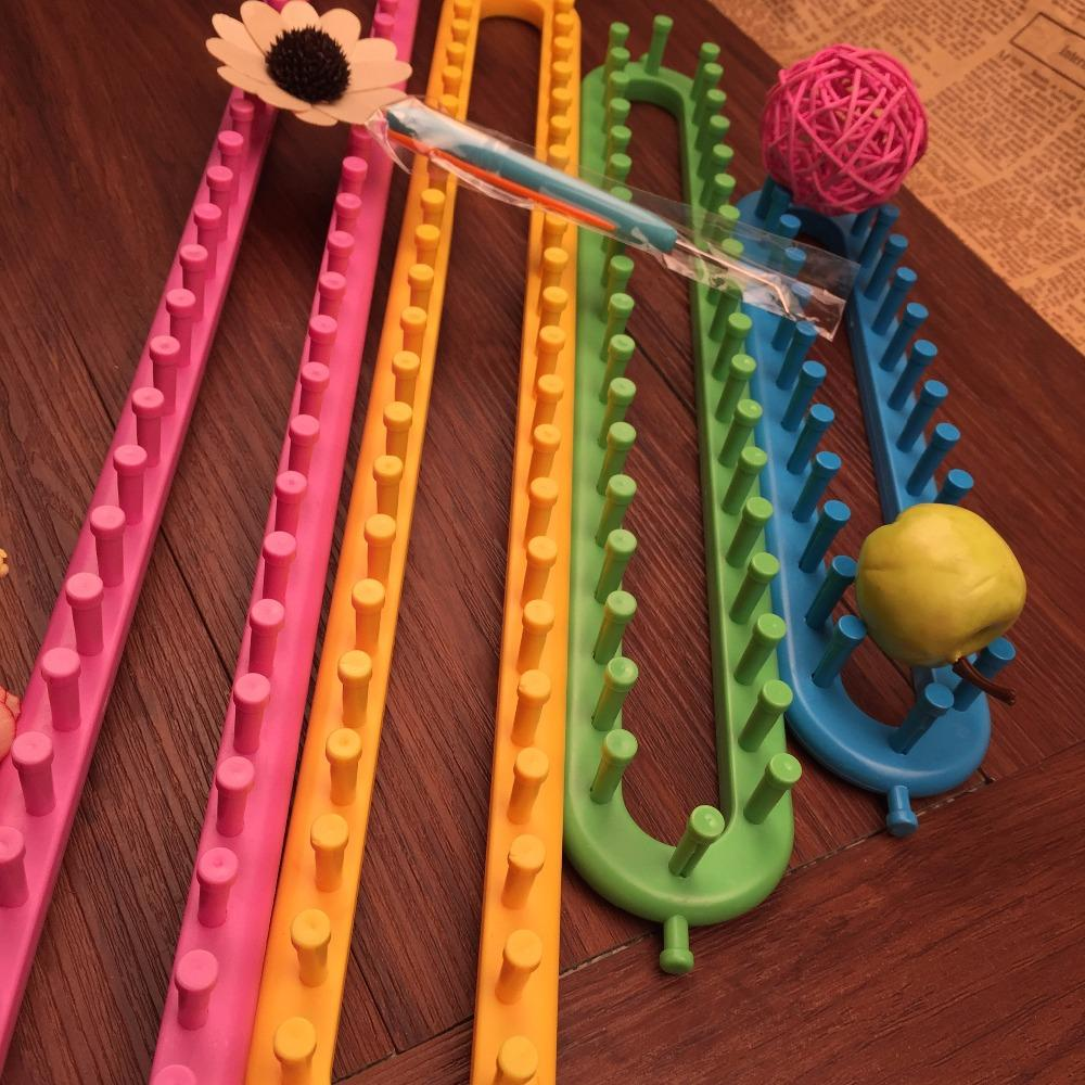 Nemokamas pristatymas 4 spalvų kvadratiniai mezgimo staklės 4 - Menai, amatai ir siuvimas - Nuotrauka 2