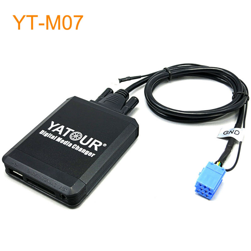 Yatour Car MP3 USB SD CD Changer for iPod AUX with Optional Bluetooth for VW Golf Beetle Cabrio Jetta Passat Sharan for Polo yatour for vw radio mfd navi alpha 5 beta 5 gamma 5 new beetle monsoon premium rns car digital cd music changer usb mp3 adapter