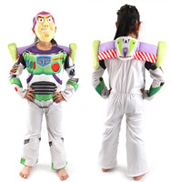 Halloween Toy Story Children Buzz Lightyear Costume Boy Buzz Role Play Costume Fancy Dress Cosplay Cloths