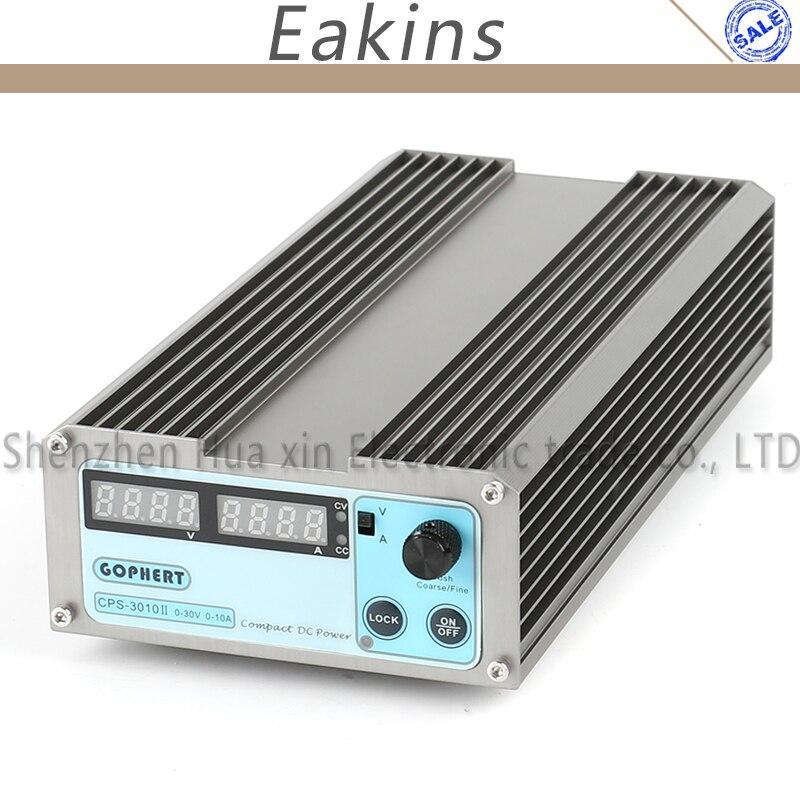 GOPHERT précision Compact numérique réglable basse puissance interrupteur DC alimentation OVP/OCP/OTP 110 V/230 V 30 V 10A MCU contrôle